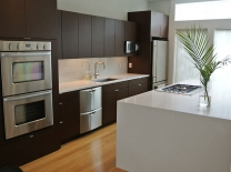 Mixing kitchen finishes